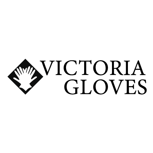 logo-victoria-gloves-com Casual Wrist Gloves: Royal Navy Blue Dotted Leather Gloves!