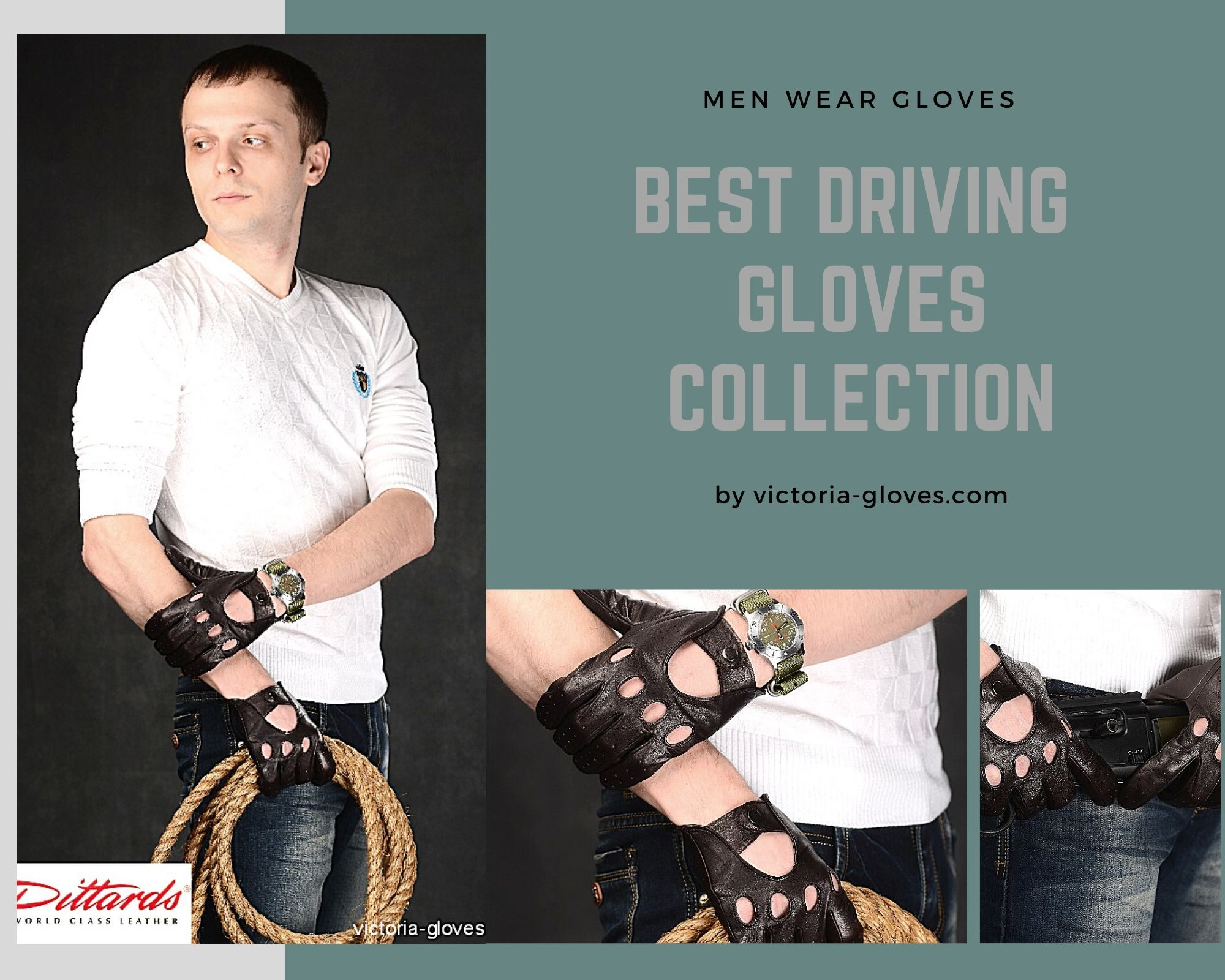 menweargloves Men Wear Leather Gloves/ How and Where - Victoria gloves online: shop gloves in leather