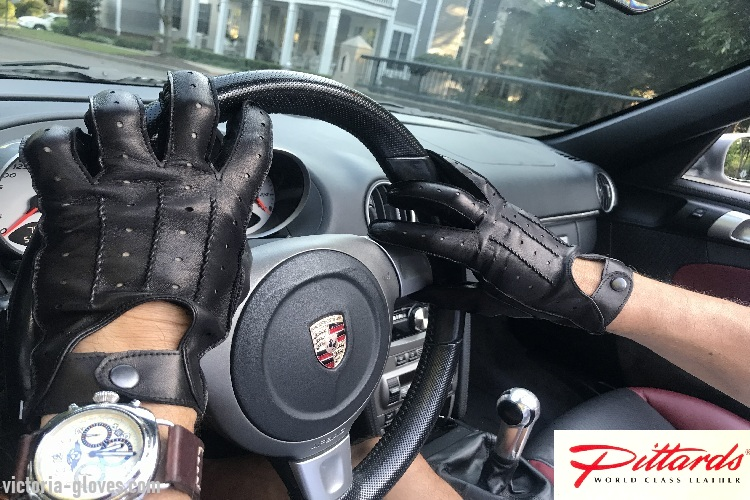 Victoria gloves online: shop gloves in leather | Gloves: BRAND NEW! Stylish Dark Brown Men's Driving Leather Gloves! BRAND NEW!