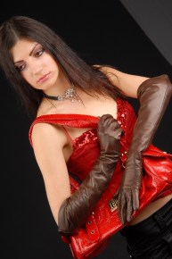 623brw_6_290x290 Gloves: Classic Chocolate Brown Long Leather Gloves with button insert!