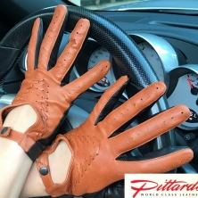 !BRAND NEW! Stylish Two Colored Driving Leather Gloves! BRAND NEW!